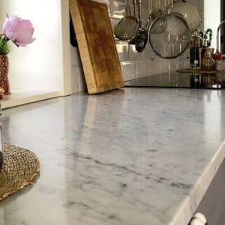 Bänkskiva i marmor